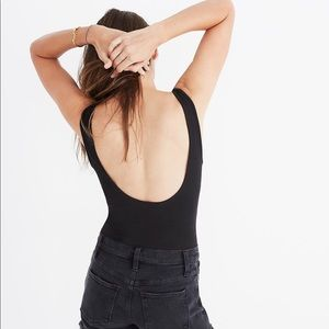 Madewell scoopback body suit